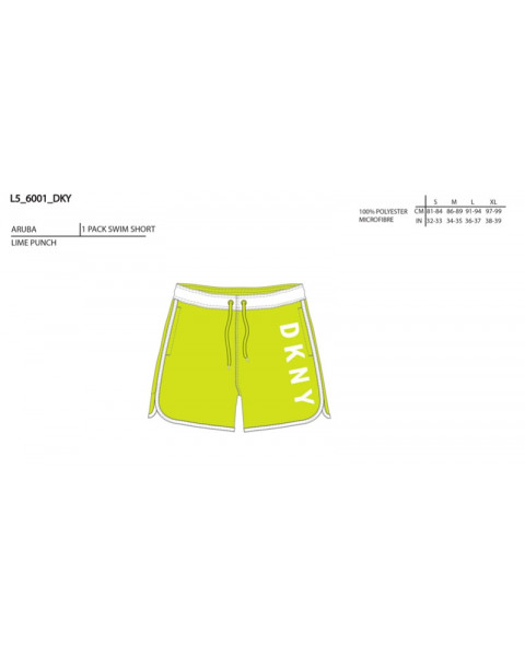 aruba-lime-dkny-short