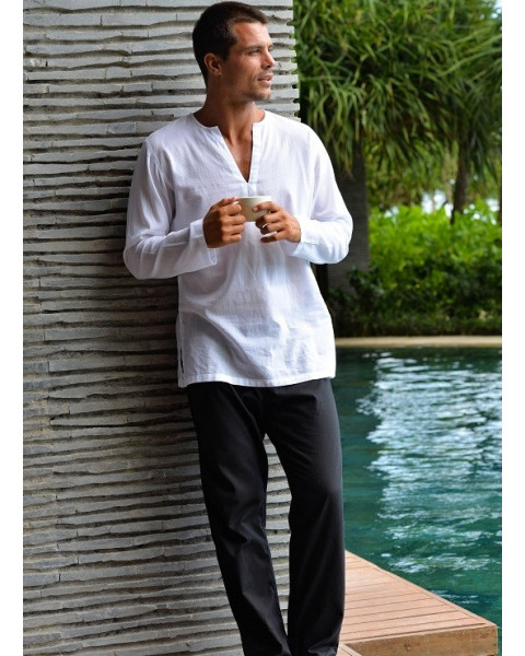 ubud-white-shirt-black-pant